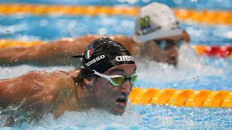 Federico Burdisso bronzo nuoto Foto Mezzelani GMT (c)021