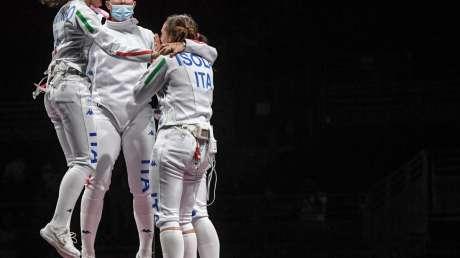 bronzo scherma donne Foto Bizzi  GMT (c)018
