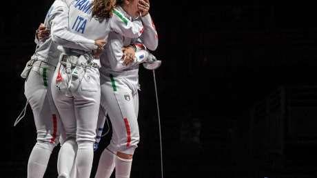 bronzo scherma donne Foto Bizzi  GMT (c)021