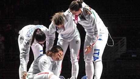 bronzo scherma donne Foto Bizzi  GMT (c)028