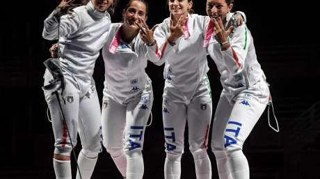 bronzo scherma donne Foto Bizzi  GMT (c)030