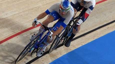 Ciclismo Omnium Viviani BRONZO Foto Sirotti GMT DSC_3198 copia