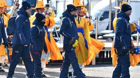 15 Welcome Ceremony Ferraro-Pagliaricci - GMT