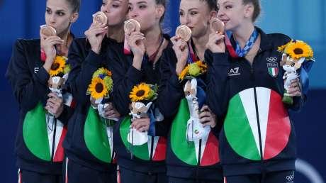 Ginnastica Ritmica Farfalle BRONZO Foto Luca Pagliaricci GMT TOK08890 copia